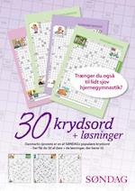 Danmarks sjoveste - 30 krydsord + løsninger