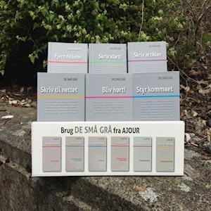 Bog, hæftet De Små Grå Display med 25 bøger