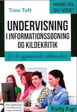 Undervisning i informationssøgning og kildekritik (Hvad vil du vide)