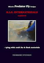 Effective Predator Fly Designs. B.I.G. INTERNATIONALS explained - tying with craft fur & flash materials