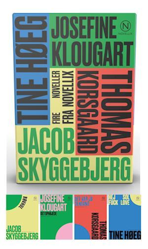 Gaveæske med fire noveller af Klougart, Korsgaard, Høeg & Skyggebjerg