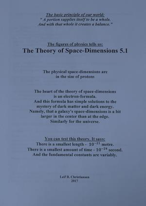 The Theory of Space-Dimensions 5.1