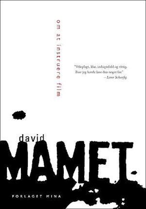 Bog, hæftet Om at instruere film af David Mamet