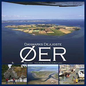 Bog indbundet Danmarks dejligste øer af Bent Lyman