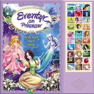 Bog, papbog Eventyr om prinsesser af Brødrene Grimm, Charles Perrault, H.C. Andersen