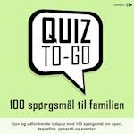 Lydquiz: 100 spørgsmål til familien (Quiz To Go, nr. 1)