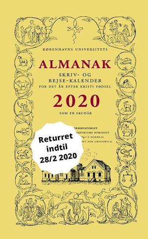 københavns universitet Universitetets almanak skriv- og rejsekalender 2020-københavns universitet-bog på saxo.com