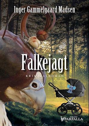 Bog, hæftet Falkejagt af Inger Gammelgaard Madsen