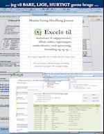 Excel til skabeloner ...