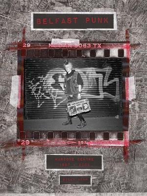 Bog, hardback Belfast Punk af Ricky Adam