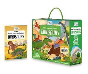 Bog, ukendt format Dinosaurs af Simon Miller