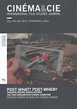 Cinema&Cie. International Film Studies Journal