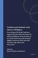 Problems and Methods of the History of Religions (Numen Books Studies in the History of Religions, nr. 19)