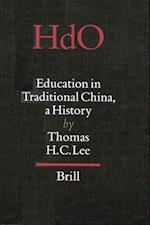 Education in Traditional China (Handbook of Oriental Studies)