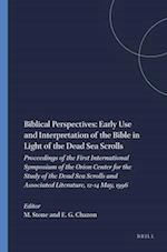 Biblical Perspectives (STUDIES ON THE TEXTS OF THE DESERT OF JUDAH, nr. 28)