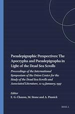 Pseudepigraphic Perspectives (STUDIES ON THE TEXTS OF THE DESERT OF JUDAH, nr. 31)