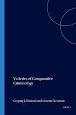 Varieties of Comparative Criminology