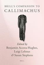 Brill's Companion to Callimachus