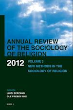 Annual Review of the Sociology of Religion (Annual Review of the Sociology of Religion, nr. 3)