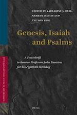Genesis, Isaiah and Psalms (SUPPLEMENTS TO VETUS TESTAMENTUM, nr. 135)