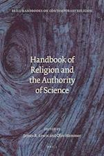 Handbook of Religion and the Authority of Science (Brill Handbooks on Contemporary Religion)
