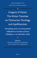 Gregory of Nyssa (SUPPLEMENTS TO VIGILIAE CHRISTIANAE)