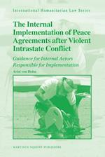 The Internal Implementation of Peace Agreements After Violent Intrastate Conflict (International Humanitarian Law)