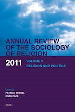 Annual Review of the Sociology of Religion af Raingard Esser