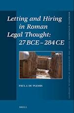 Letting and Hiring in Roman Legal Thought (Mnemosyne Supplements Mnemosyne Supplements History and, nr. 340)