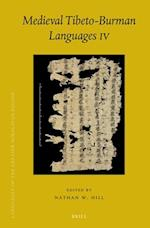 Medieval Tibeto-Burman Languages IV (Brill's Tibetan Studies Library, nr. 5)