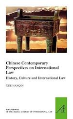Chinese Contemporary Perspectives on International Law (Pocket Books of the Hague Academy of International LawLes, nr. 15)