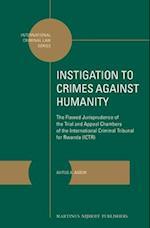 Instigation to Crimes Against Humanity (International Criminal Law)
