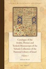 Catalogue of the Arabic, Persian, and Turkish Manuscripts of the Yahuda Collection of the National Library of Israel Volume 1 (Islamic Manuscripts and Books, nr. 13)