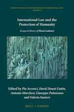 International Law and the Protection of Humanity (Leiden Studies on the Frontiers of International Law, nr. 3)