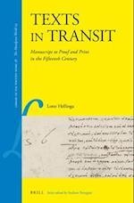 Texts in Transit af Lotte Hellinga
