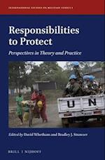 Responsibilities to Protect (International Studies on Military Ethics, nr. 1)