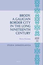 Brody (Studia Judaeoslavica, nr. 10)
