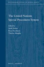 The United Nations Special Procedures System (Nottingham Studies on Human Rights, nr. 6)