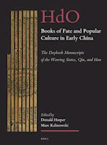 Books of Fate and Popular Culture in Early China (Handbook of Oriental Studies, Section Four, China)