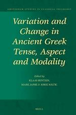 Variation and Change in Ancient Greek Tense, Aspect and Modality (Amsterdam Studies in Classical Philology)