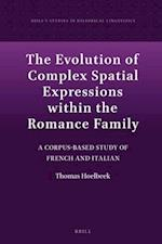 The Evolution of Complex Spatial Expressions Within the Romance Family (Brills Studies in Historical Linguistics, nr. 7)