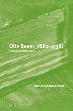 Otto Bauer 1881-1938 (Historical Materialism Book)