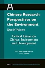 Chinese Research Perspectives on the Environment, Special Volume (Chinese Research Perspectives Chinese Research Perspective, nr. 5)