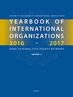 Yearbook of International Organizations 2016-2017, Volume 5 (Yearbook of International Organizations Yearbook of Intern, nr. 5)