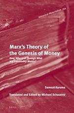 Marx's Theory of the Genesis of Money (Historical Materialism)