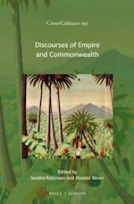Discourses of Empire and Commonwealth (Cross-cultures, nr. 192)