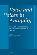 Voice and Voices in Antiquity (Mnemosyne, Supplements, nr. 396)