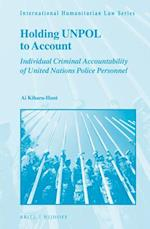 Holding Unpol to Account (International Humanitarian Law, nr. 50)