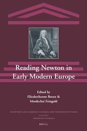 Reading Newton in Early Modern Europe