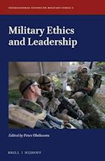 Military Ethics and Leadership (International Studies on Military Ethics)